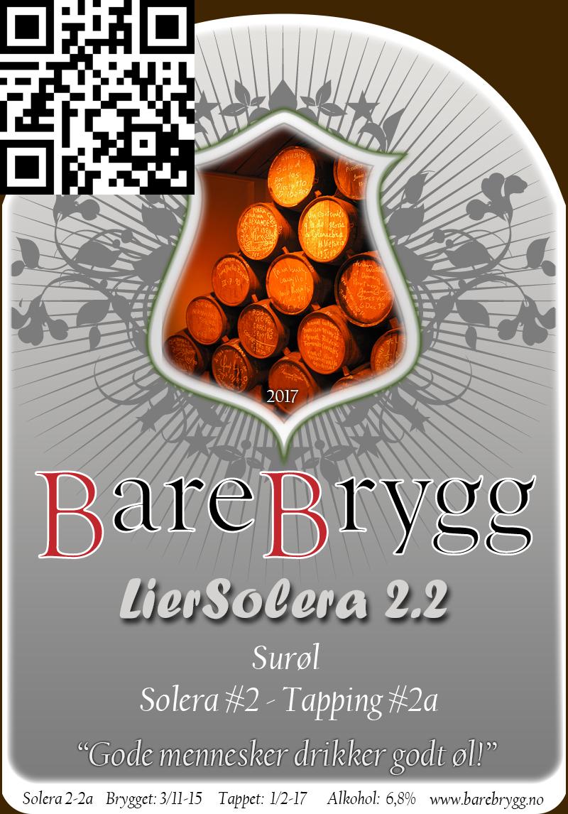 Brygg S2-T2a – LierSolera 2.2